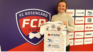 """Photo of Olivia Welin: """"Spännande att komma till FC Rosengård"""""""
