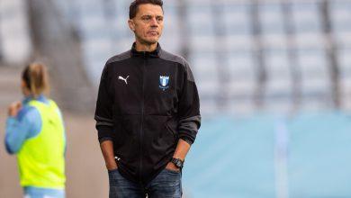 """Photo of Fredrik Jahnfors i MFF dam: """"Har en jättestark trupp och siktar på att vinna serien"""""""