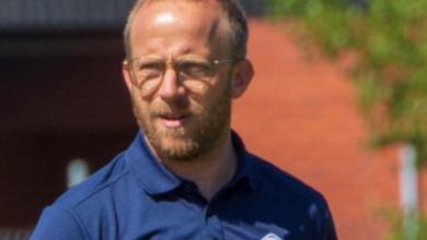 """Photo of Magnus Högström i Tomelilla IF: """"En cykelspark rakt upp i nättaket"""""""
