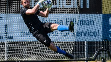 """Photo of Calle Lindell målvakt i Kristianstad FC: """"Ett intressant projekt med en satsning på unga spelare"""""""