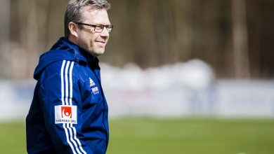 """Photo of Håkan Magnusson: """"De fina sakerna med ÄFF:s damer är att det finns väldigt många som kan avgöra matcher"""""""