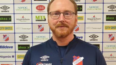 Photo of Hallå där…Kenth Rosdahl, huvudtränare Höganäs BK dam