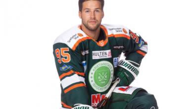 """Photo of Alexander Mollden Kristianstad IK: """"Ska jag va helt ärlig så finns det nog ingen hall som är bättre än våran"""""""