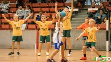Photo of Handbollssnack med Nea Bemerholt i HK Björnen