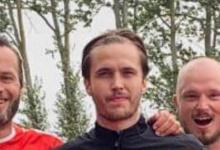 """Photo of Teo Sandahl i Skanör Falsterbo IF: """"Målet är att slå Mikael Ahrtzings rekord i antalet matcher som ligger kring 500+"""""""