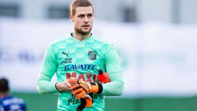 """Photo of Oliver Lindstedt, målvakt i IF Lödde: """"Vi har allt att vinna och vi älskar det"""""""
