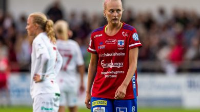 """Photo of Alexandra Benediktsson i Vittsjö GIK: """"Det är alltid tufft att möta KDFF, det är derby och det brukar smälla på"""""""