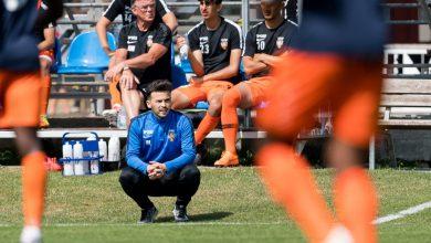 """Photo of Besnik Llazani i Nosaby IF: """"Nya spelare vill gärna visa tränarna vad de går för"""""""
