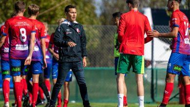 """Photo of Stefan Ramsten i Höganäs BK: """"Vi har en bra trupp som tycker om att träna"""""""