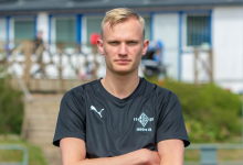 """Photo of Hampus Stenfeldt Karlsson: """"Får vi ordning på allting så ska vi hålla oss i toppen av tabellen"""""""