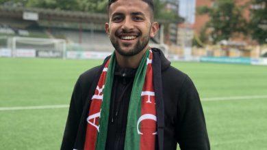 Photo of Silverhanden 2021 till Saber Azizi från Ariana FC