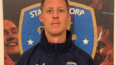 """Photo of Niklas Olsson i Staffanstorps United: """"Kommer alltid begära att laget ger 100% för att vinna"""""""