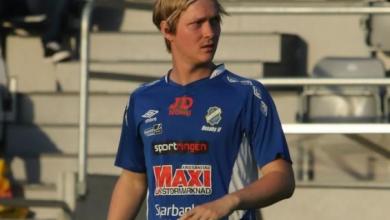 """Photo of Kevin Ketteridge i Skivarps GIF: """"Jag och Bogi är alltid längst fram på löpningen"""""""