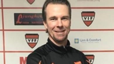 """Photo of Jens Larsson i Vanneberga IF: """"Allt handlar om att vinna fotbollsmatcher och det är tufft, det gör ont"""""""