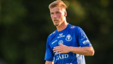 """Photo of Kasper Harletun i FC Rosengård: """"Tror starkt på klubben och att vi går upp i år"""""""