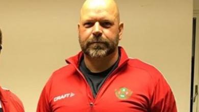 """Photo of Johan Hansson i Nävlinge IF: """"Att lägga matcherna juli i de lägre divisionerna är nog inget som kommer att funka"""""""