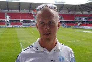 """Photo of Ordförande Robin Ekvall i Svenstorps IF: """"Tycker överlag att regeringen skött allting uselt"""""""