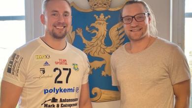 Photo of Mittsexan Anton Månsson till Ystads IF