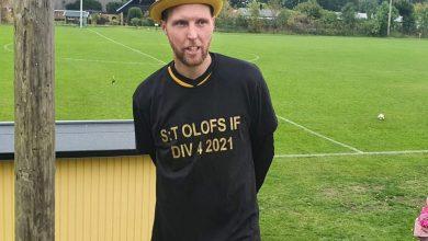 Photo of Rasmus Nygren, tränaren i Sankt Olofs IF som aldrig förlorat