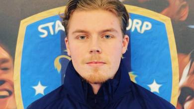 """Photo of Eric Öhlin: """"Den stora anledningen till att det blev just Staffanstorp beror främst på Kim"""""""