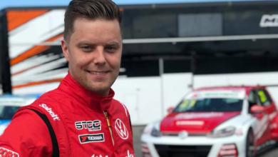 Photo of Andreas Ahlberg jagar topp tre med Kågered Racing i STCC 2021