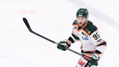 Photo of Alexander Molldèn klar för spel i Redhawks