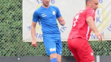 """Photo of Arnes Mujanic i Kvarnby IK: """"Försöker inte bara vara en spelare för laget utan en förebild för de yngre"""""""
