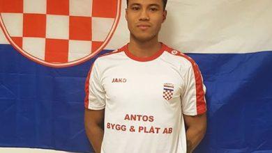 Photo of Hallå där…Fabian Gustafsson Da Silva i NK Croatia