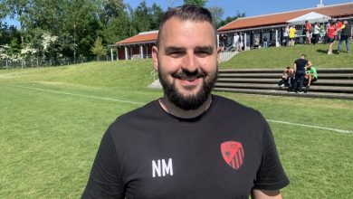 """Photo of Nezir Mehmeti i FK Besa: """"Det vi tar med oss förutom segern är hur vi jobbade som lag"""""""