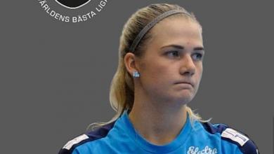 Photo of Backen Nellie Karlsson till IBK Lund