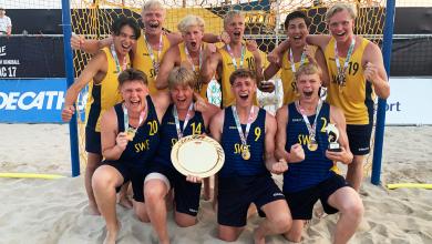 Photo of Pågar från Kävlinge och H43 Lund tog guld i U17-EM – Paldanius vann skytteligan