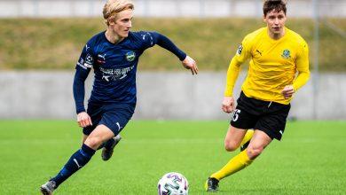 Photo of Österlen FF:s Victor Blixt till Helsingborgs IF