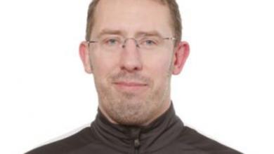 """Photo of Martin Nordlundh i BK Höllviken: """"Just nu avlöser toppmatcherna varandra varje vecka"""""""
