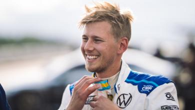 Photo of Kevin Engman tävlar för Brink Motorsport på Gelleråsen Arena