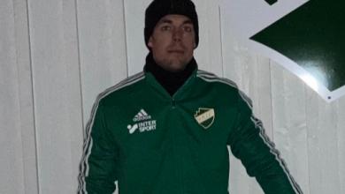 """Photo of Mikael Alm, tränare i Västra Karups FK: """"Vi har i år en bra mix mellan erfarna spelare och yngre förmågor"""""""