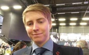 """Photo of Linus Dehman i Ystads IF FF: """"När jag spelar upp matchen i mitt huvud så har jag alltid oss som vinnare"""""""