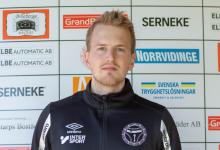 """Photo of Linus Ahlberg, tränare i Billeberga GIF: """"Jag är väldigt stolt över killarna"""""""