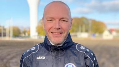 """Photo of Anders Ek: """"Vi skall se till så att Vellinge FF spelar div.4 även nästa säsong"""""""