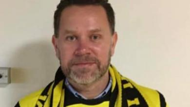 """Photo of Peter Lindgren, tränare Kiaby IF: """"Tycker vi har imponerat som trupp"""""""